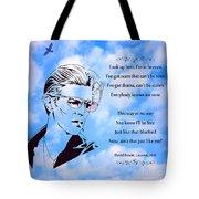 256- David Bowie Tote Bag