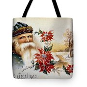 American Christmas Card Tote Bag