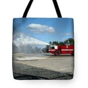 Firefighting Tote Bag