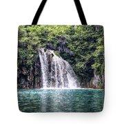Plitvice Lakes National Park Croatia Tote Bag