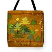 2607 Merry Christmas 2018 Tote Bag
