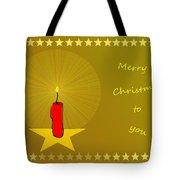 2610 Merry Christmas To You 2018 Tote Bag