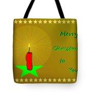2611 Merry Christmas To You 2018 Tote Bag