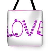 2612 Love 2018 Tote Bag