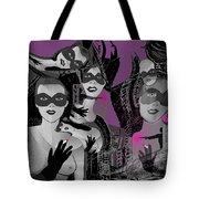 2616 Ladies Masks Man Weapons 2018 Tote Bag