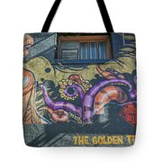 2635- Golden Triangle Tote Bag