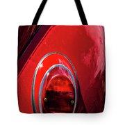 2665- Red Volkswagen  Tote Bag