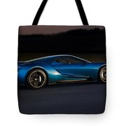 269243 Car Ford Gt Race Tracks Tote Bag
