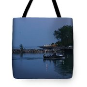 Racine Coastal Seascape - Michigan Lake In Wisconsin By Adam Asar Tote Bag