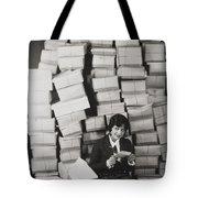 Silent Film Still Tote Bag