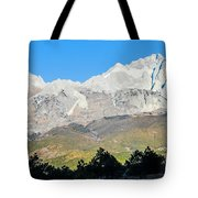 The Plateau Scenery Tote Bag