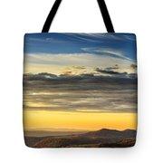 Allegheny Mountain Sunrise Tote Bag