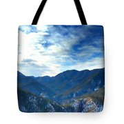 Lake Landscape Tote Bag