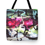Abstract Landscape Painting Tote Bag