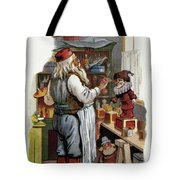 American Christmas Card Tote Bag