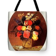 bs-flo- James Henry Wright- Flower Still Life James Henry Wright Tote Bag