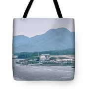Scenery Around Alaskan Town Of Ketchikan Tote Bag