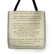 29- The Guest House Tote Bag