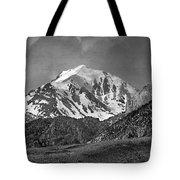 2d07508-bw High Peak In Lost River Range Tote Bag