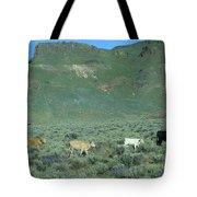 2da5946-dc Cattle On Steens Mountain Tote Bag