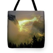 2m6633 Storm Over Yosemite Tote Bag by Ed Cooper Photography