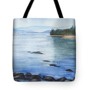 2nd Beach, Vancouver Tote Bag