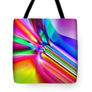 2x1 Abstract 303 Tote Bag