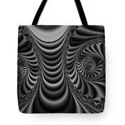 2x1 Abstract 435 Bw Tote Bag