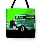 1930 Ford Tudor Sedan Tote Bag