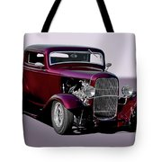 1932 Ford 'three Window' Coupe   Tote Bag