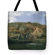 A French Homestead Tote Bag