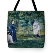 A Game Of Croquet Tote Bag