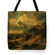 A Heath Painting Painted Originally Tote Bag
