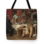 A Pastoral Visit Tote Bag