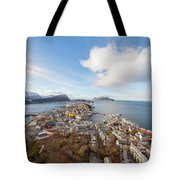 Aalesund City Tote Bag