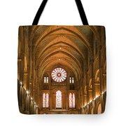 Abbey Of Saint - Remi Reims Tote Bag