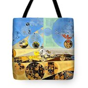 Abstract Painting - Brown Pod Tote Bag