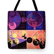 Abstract Painting - Seal Brown Tote Bag