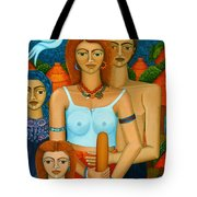3 Ages Of A Woman And A Man Tote Bag