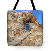 Agioi Saranta Cave Church - Cyprus Tote Bag