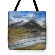 Aletsch Glacier, Switzerland Tote Bag