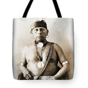 American Indian Chief Tote Bag
