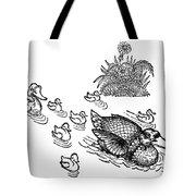 Andersen: Ugly Duckling Tote Bag