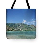 Areia Branca Tropical Beach View Near Dili In East Timor Tote Bag