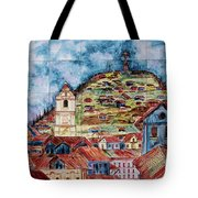 Artisan Market In Quito Tote Bag