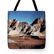 Badlands At Sunset Tote Bag