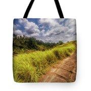 Bali Landscape Tote Bag