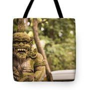 Bali Sculptures Tote Bag