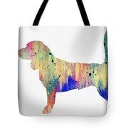 Beagle-colorful Tote Bag