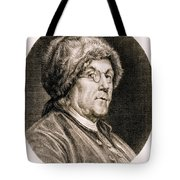 Benjamin Franklin, American Polymath Tote Bag by Science Source